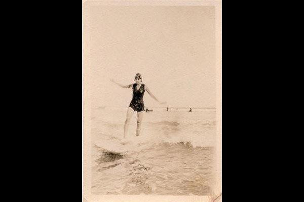 Surfing history of South Africa famous Heather Price surfer.