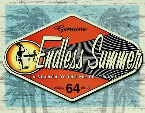 Endless summer poster shows the history of surfing in South Africa